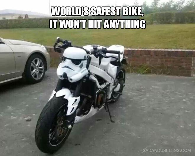 World's safest bike.