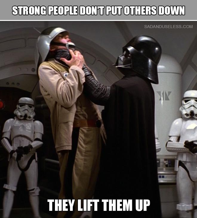 God bless Darth Vader!
