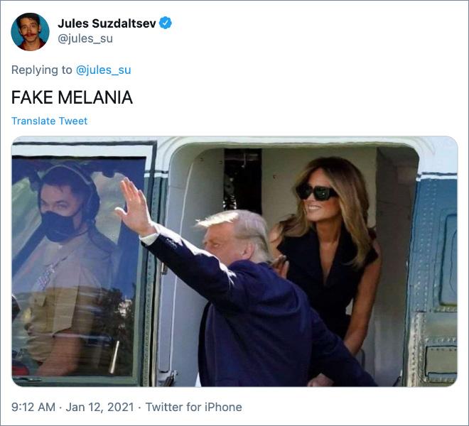 FAKE MELANIA