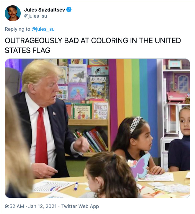 OUTRAGEOUSLY BAD AT COLORING IN THE UNITED STATES FLAG