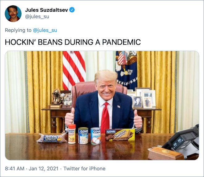 HOCKIN' BEANS DURING A PANDEMIC