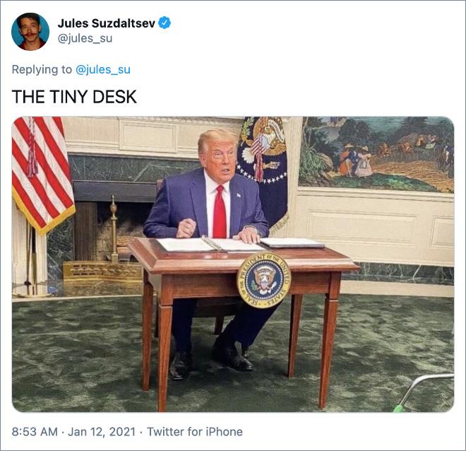 THE TINY DESK