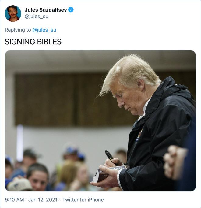 SIGNING BIBLES