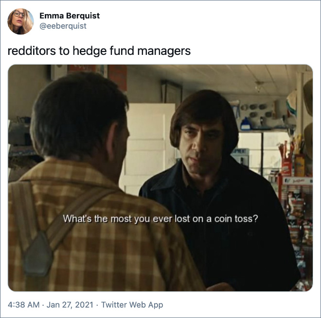 redditors to hedge fund managers