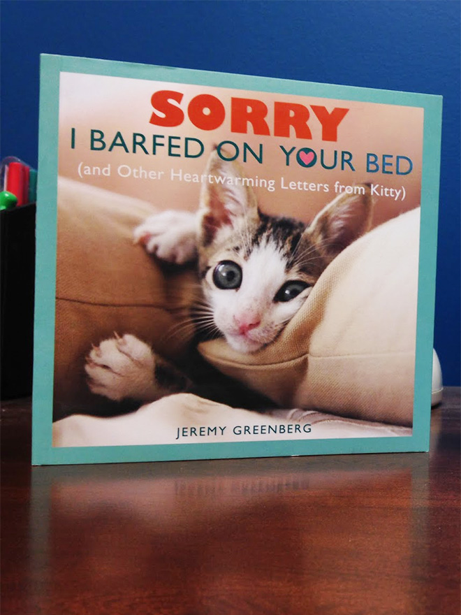 """""""Sorry I Barfed On Your Bed"""" by Jeremy Greenberg"""