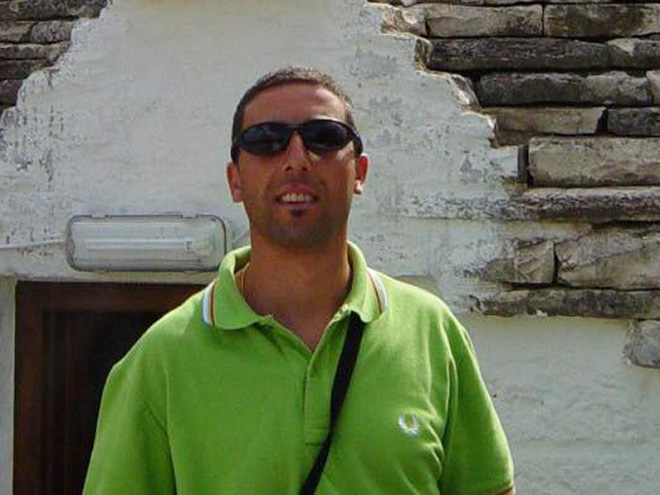 Adam Sandler look-a-like.