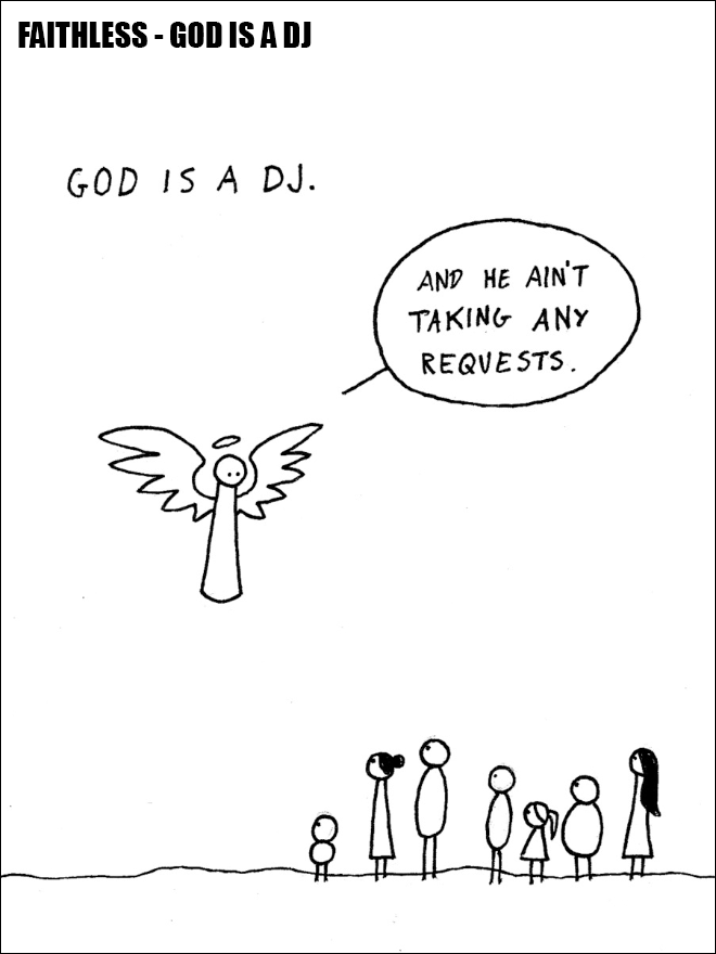 Song explained with a simple cartoon.