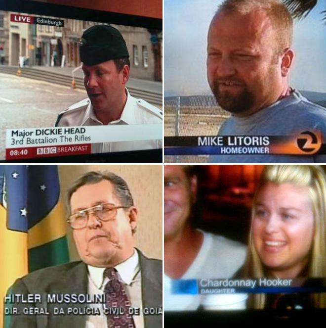 Unfortunate names.