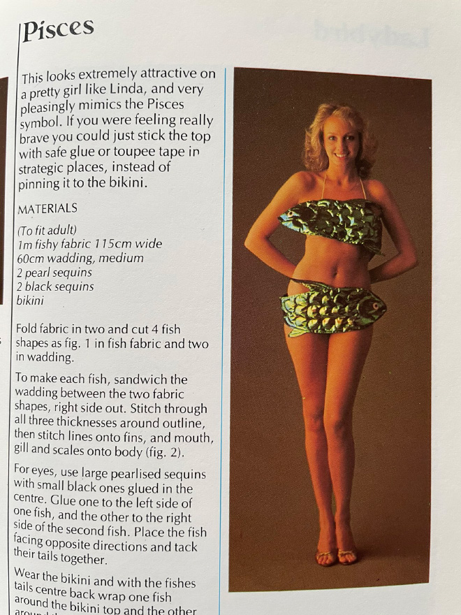 DIY costume from 1986 book.