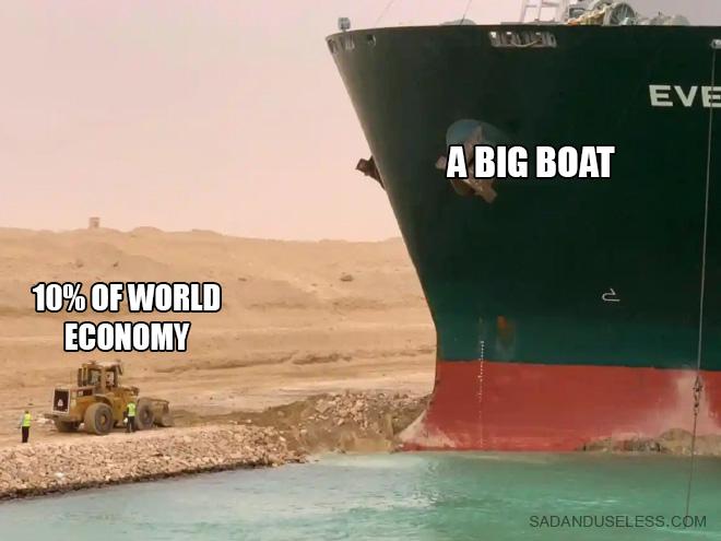 A big boat.