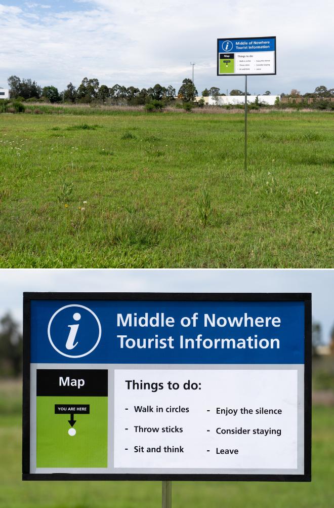 Tourist information.