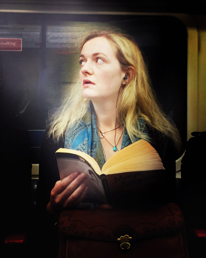 Subway photo that looks like a 16th century painting.