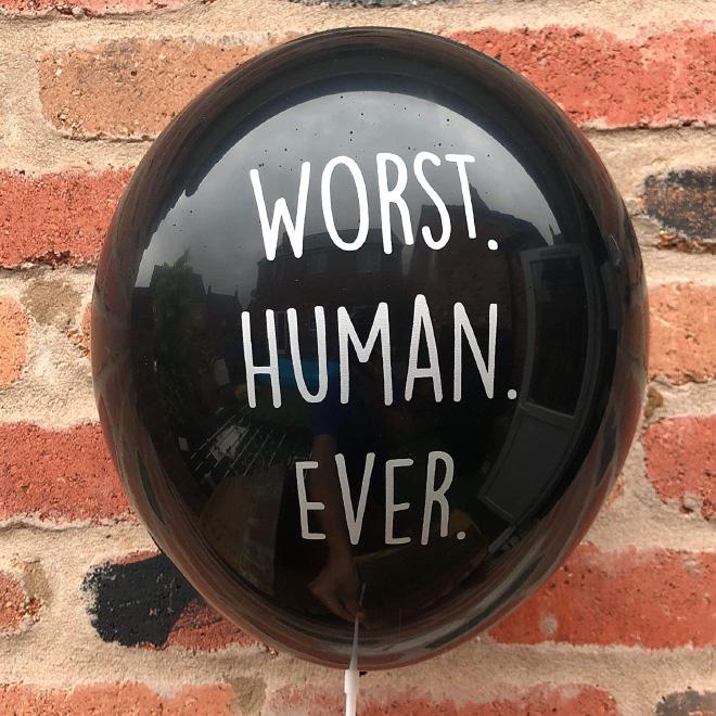 Worst human ever!