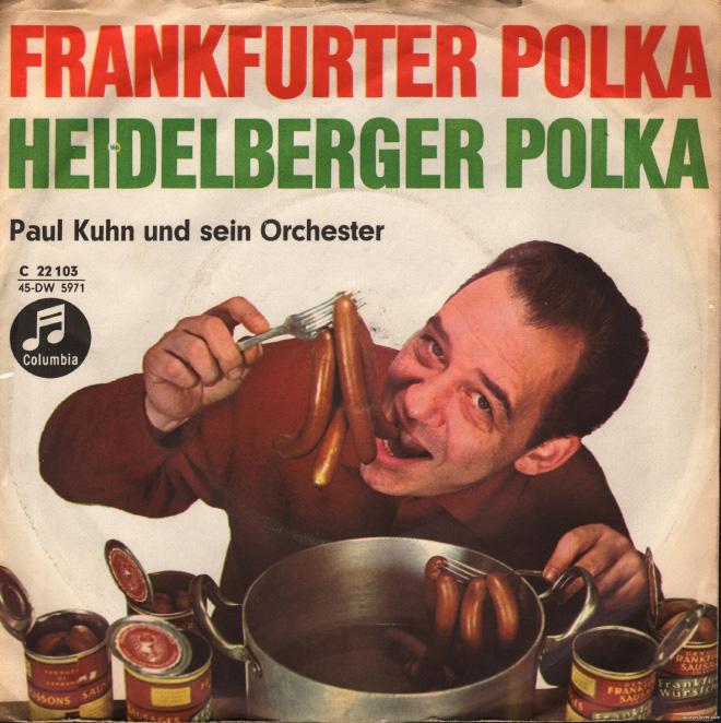 Awkward vintage polka album cover.