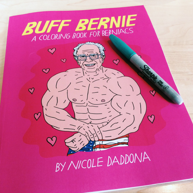 Let's face it. Bernie Sanders would make one hunk of a president. He's got it all - the brains, the vision, the hair - and now with Buff Bernie, he's got the buff bod to lift this fine United States of America even higher into the skies of greatness.