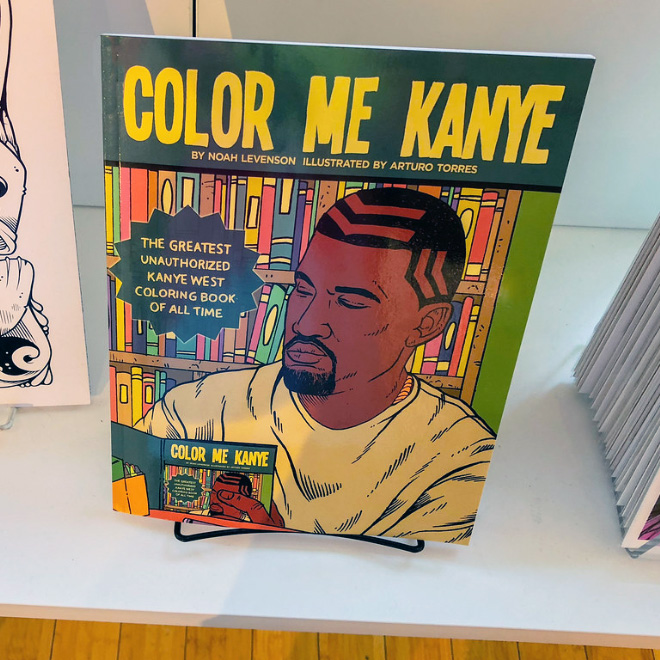 You know Kanye West as a visionary multimillionaire music and fashion icon. But there's another side to him: He's also a God-like revolutionary hero who's literally saving the world.