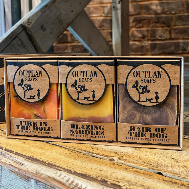 Outlaw soap.
