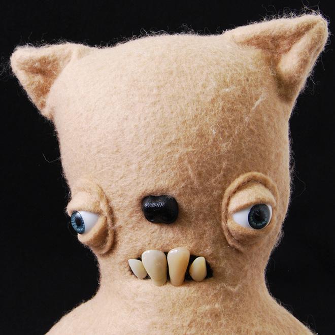 Creepy plush toy.