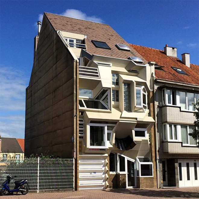 Ugly Belgian house.