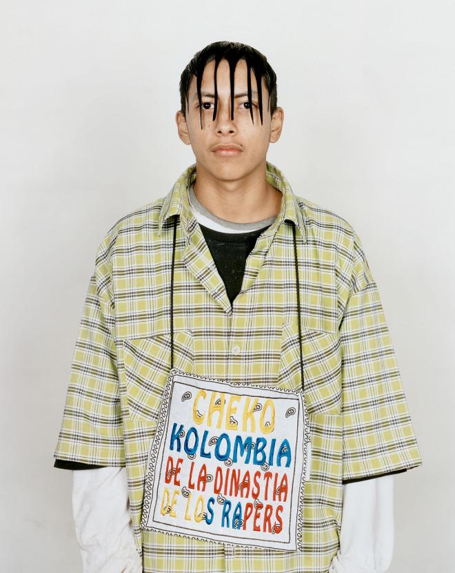 Coupe de cheveux de la sous-culture Cholombiano.