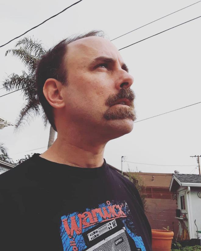 Double mustache.