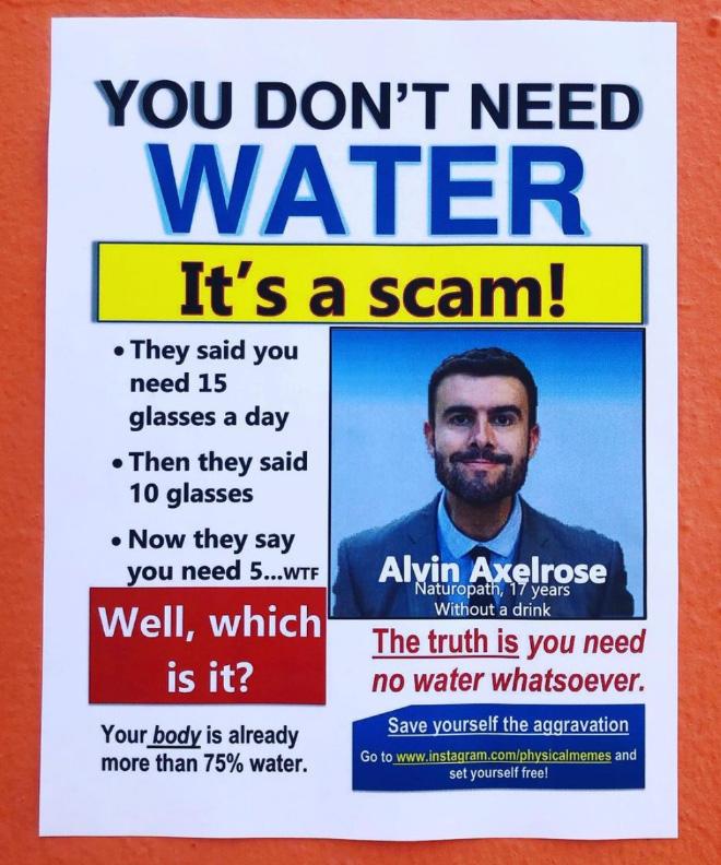 Really weird poster...