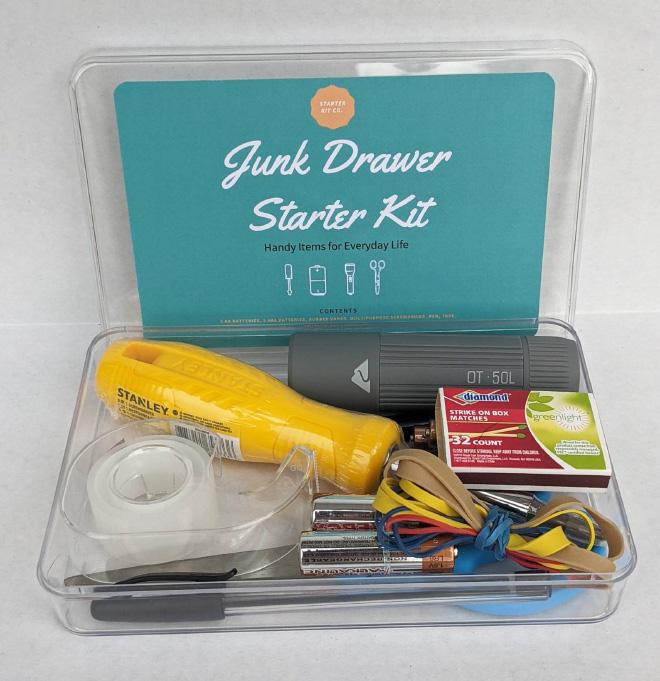 Kit de démarrage pour tiroir indésirable que vous pouvez réellement acheter sur Etsy.