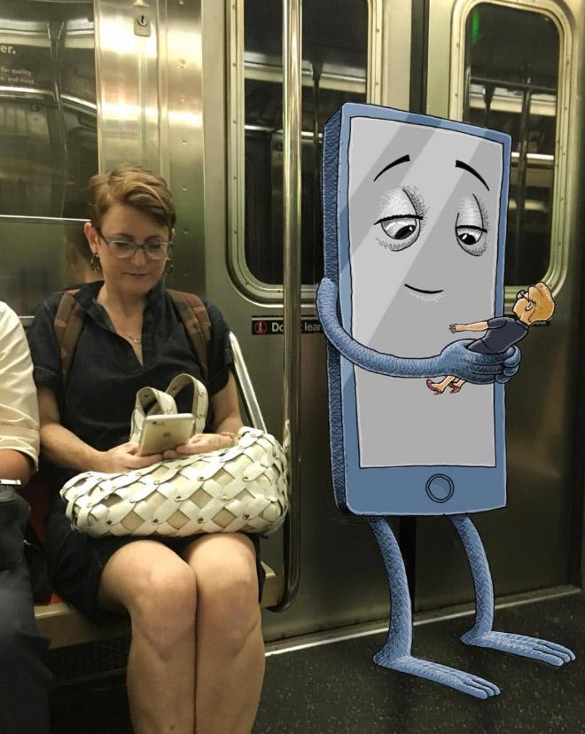 Monstre du métro.
