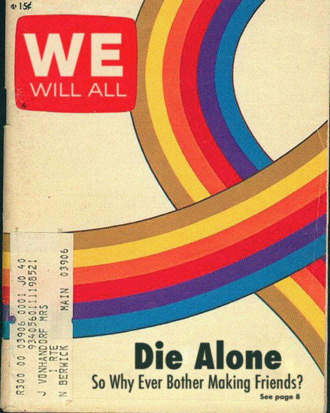 Nous mourons tous seuls.