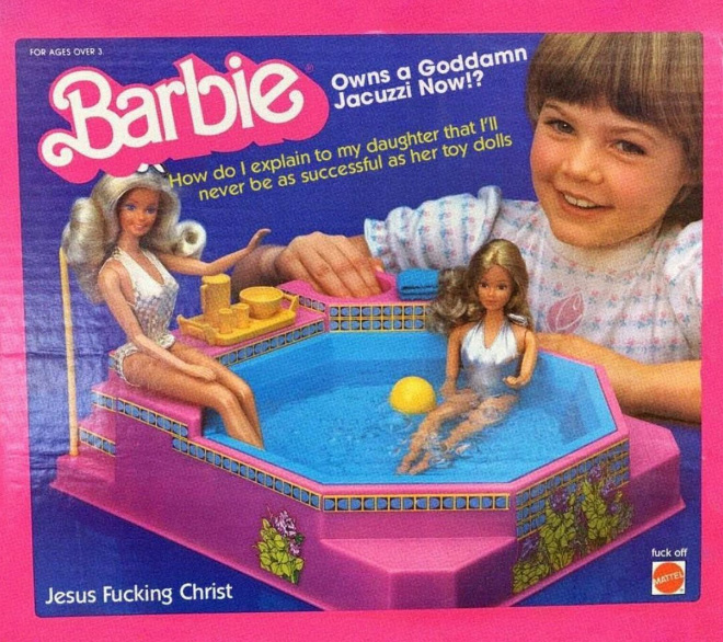 Bon sang, Barbie !