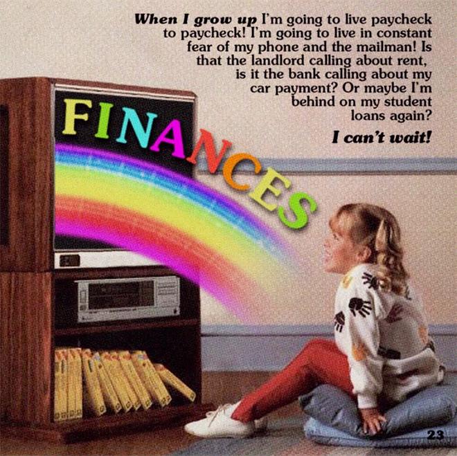 Finances!