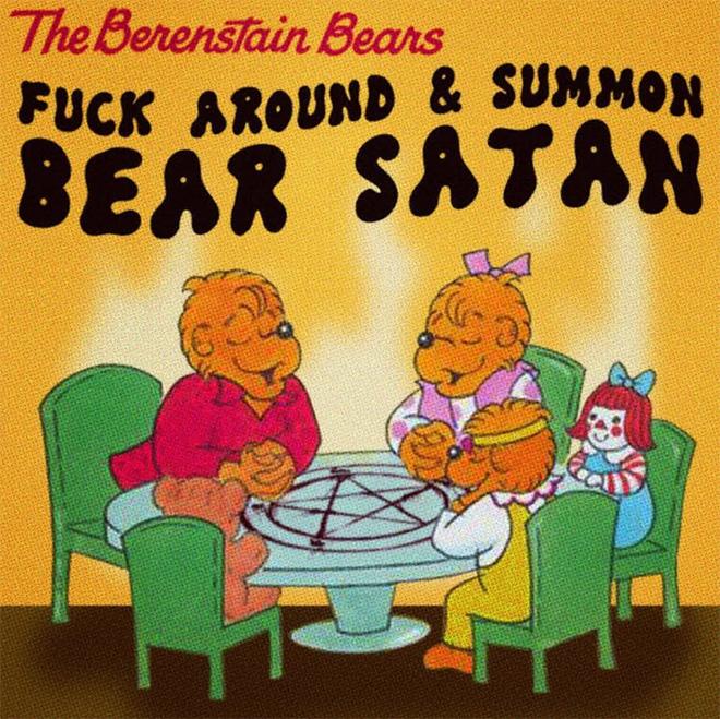 Ours Satan arrive bientôt !