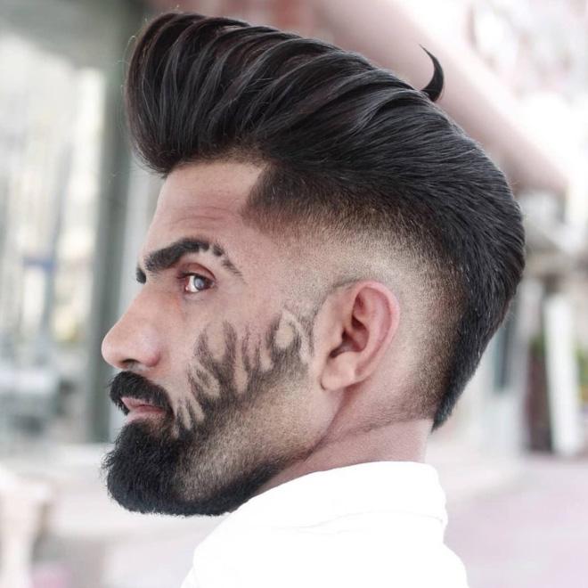 Vous cherchez un nouveau style de barbe ?  Regarde ça!