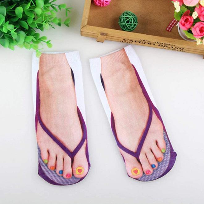 Chaussettes pour les personnes aux pieds laids.