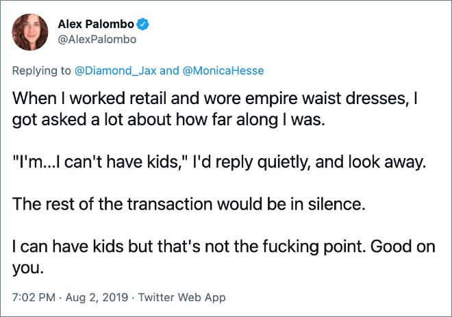 Le reste de la transaction se ferait en silence.