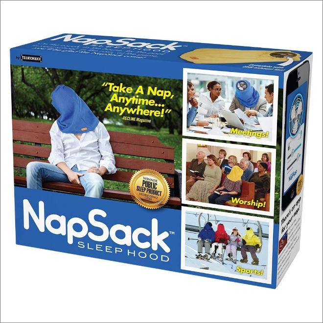 Funny fake gift prank box.