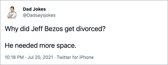 Why did Jeff Bezos get divorced?