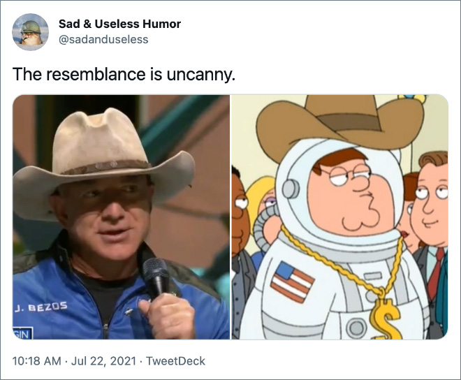 The resemblance is uncanny.