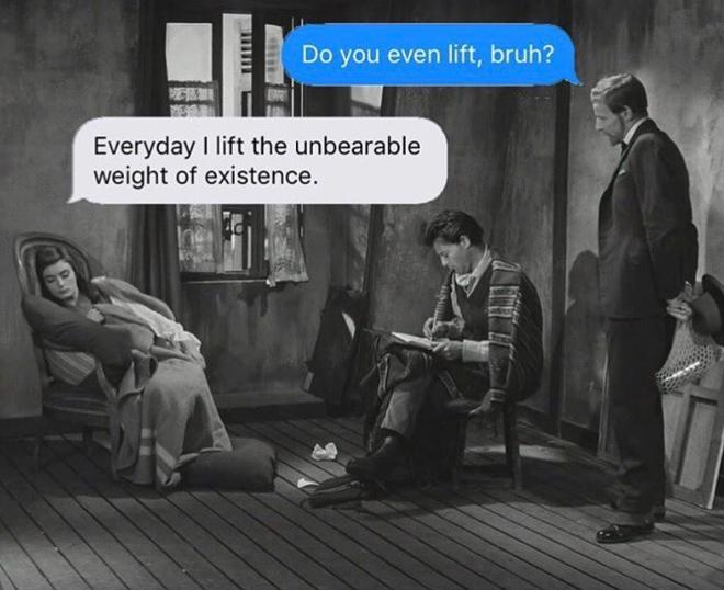 Est-ce que vous soulevez même?
