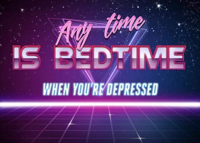 N'importe quel moment est l'heure du sommeil