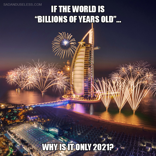 Why is it only 2021?