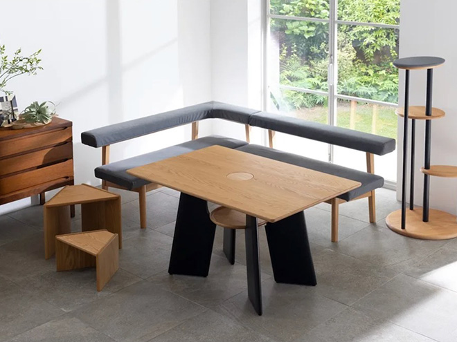 Cat table from Japan.