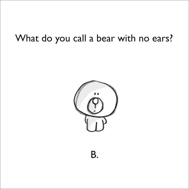 Jeu de mots d'ours.