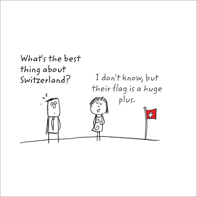 Jeu de mots de drapeau.