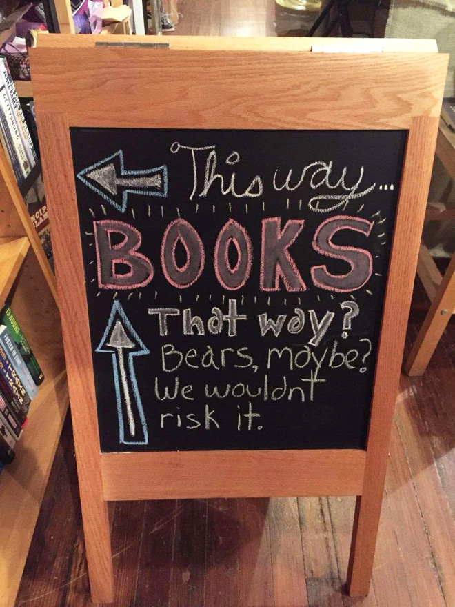 Brilliant library humor.