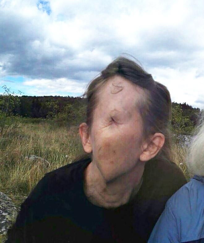 Panorama selfie fail.