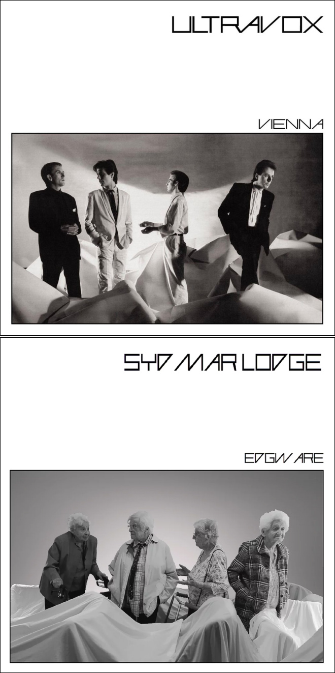 Couverture d'album recréée.