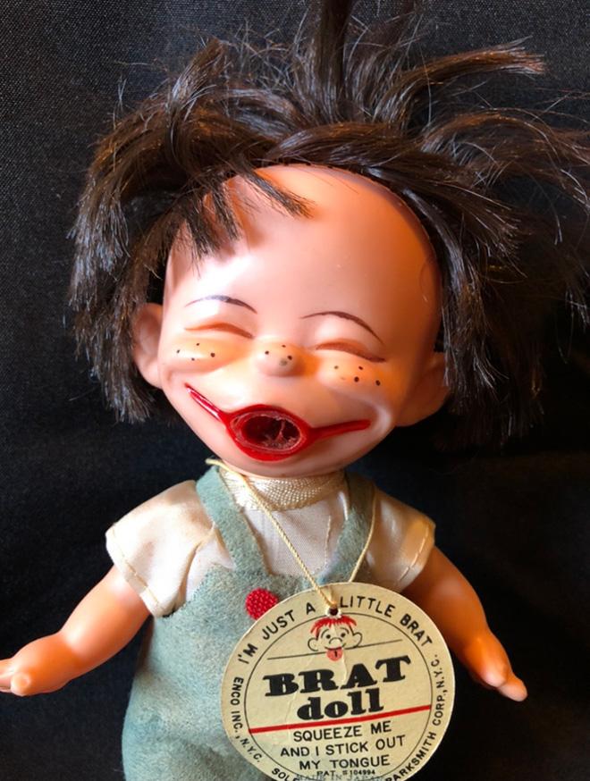 Creepy doll.