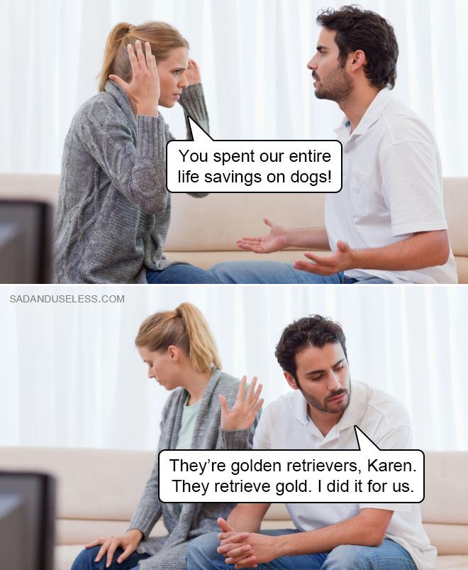 Je l'ai fait pour nous, Karen.