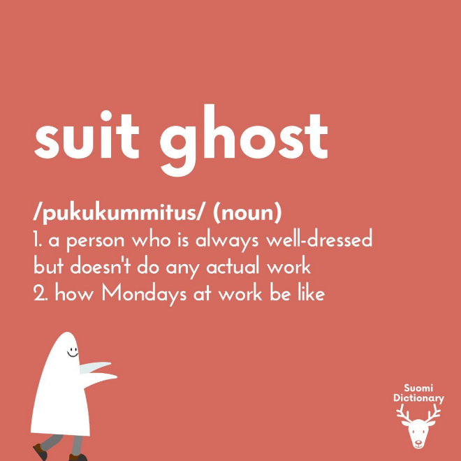 Suit ghost.